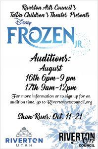 Auditions for Frozen Jr.