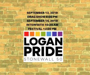 Logan Pride Festival 2019