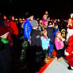 Santa's Arrival in Riverton