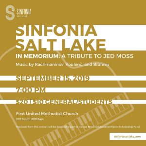 Sinfonia Salt Lake: In Memorium