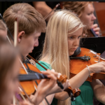 SUU Music Works with High School Orchestra Students