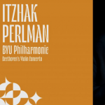 Itzhak Perlman with the BYU Philharmonic