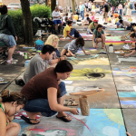 Chalk Drawing Competition