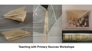 Teaching with Primary Sources Workshops