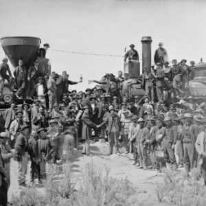 A World Transformed: The Transcontinental Railroad...