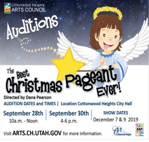 AUDITIONS for The Best Christmas Pageant Ever