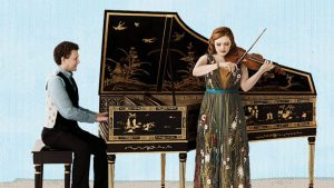 Chamber Music Society of SLC: Rachel Barton Pine, violin with Jory Vinikour, harpsichord; JS Bach Sonatas for Violin and Harpsichord