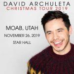 David Archuleta Christmas 2019 - Moab