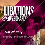 Libations at The Leonardo: Tour of Italy