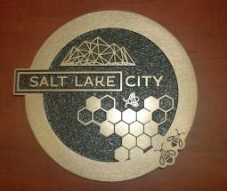 Salt Lake City Sidewalk Medallion