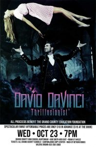 David Davinci – Thrillusionist