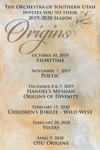 Vistas – Western Origins