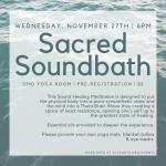 Sacred Soundbath