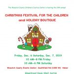 Christmas Festival For The Children and Holiday Boutique