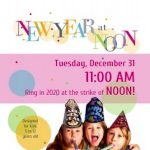 New Year at Noon Party