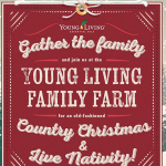 Young LIving Country Christmas and Live Nativity 2019