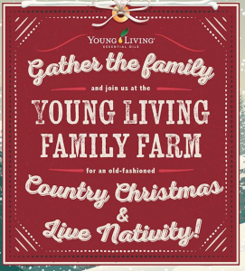 Young LIving Country Christmas and Live Nativity 2...