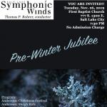 Pre-Winter Jubilee – Salt Lake Symphonic Winds