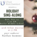 Utah Wind Symphony Holiday Sing-Along