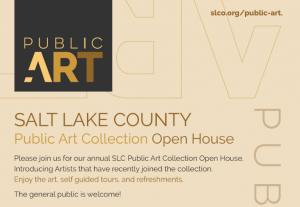 Salt Lake County Public Art Collection Open House