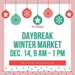 Daybreak Winter Market 2019
