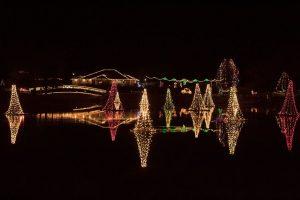 Pond Town Christmas Lighting 2019