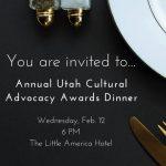 2020 Utah Cultural Advocacy Awards