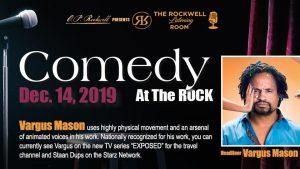 Comedy At The Rock: Vargus Mason