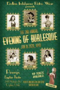 2nd Annual Evening of Burlesque