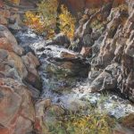 Jennifer Worsley Exhibit:  Pastels and Woodblock P...
