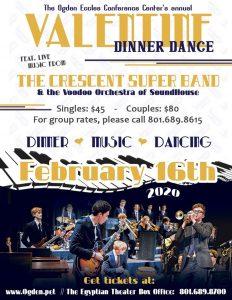 Ogden Eccles Conference Center's Annual Valentine Dinner Dance
