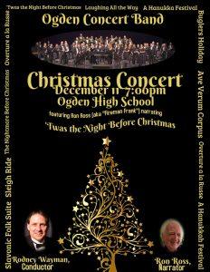 Ogden Concert Band Christmas Concert 2019