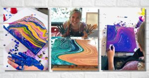 Go with the Flow: Acrylic Paint Pouring