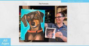 Pet Portrait Painting Class