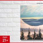 Uinta Snow - SLC Paint & Sip Night