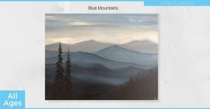 Blue Mountains - SLC Painting Experience