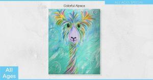 Alpaca - SLC Painting Experience