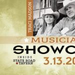 Musicians Showcase in March