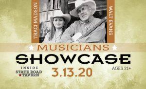 Musicians Showcase in March