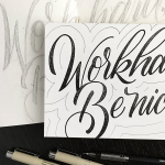 Advanced Hand Lettering with Bre McCallum- Ages 15+