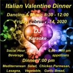 Italian Valentine Dinner