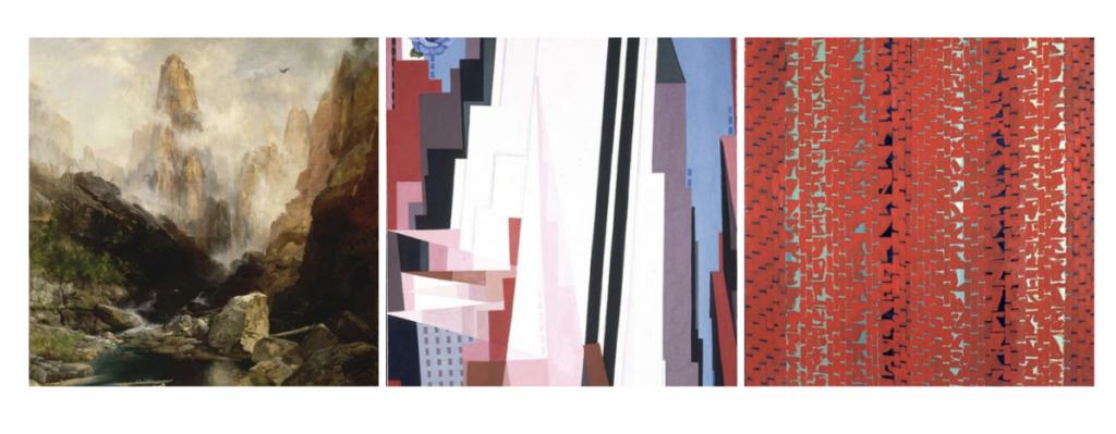 Thomas Moran, Georgia O'Keeffe, and Alma Thomas ...