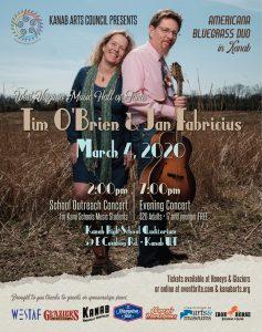 An Evening of Bluegrass: Tim O'Brien and Jan Fabricius