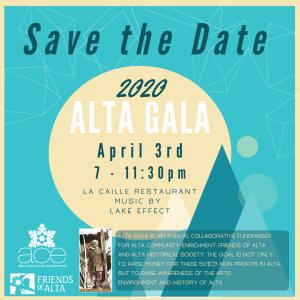 Alta Gala 2020 (canceled)