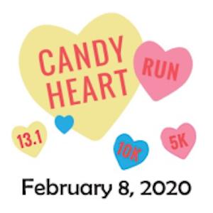 2020 Candy Heart Run - Half Marathon, 10K, 5K