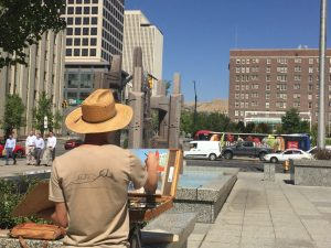 CALL FOR ARTISTS: Urban Plein Air at The Market
