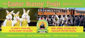 Easter Bunny Train -CANCELLED