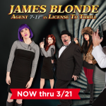James Blonde: Agent 7-11 in License to Thrill -SUSPENDED