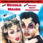 GREASEY - Ursula Major's Pinup/Greaser Birthday Bash!