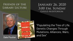 Free Lecture - Dr. Dale Poulter